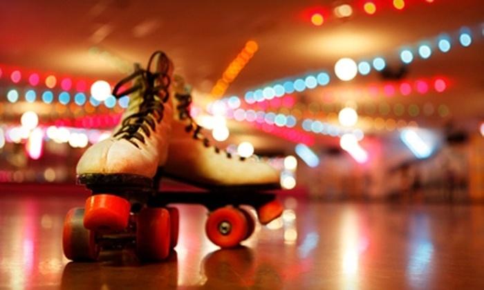 Hot Wheels Skate Center - Daphne: $4 for Admission and Roller-Skate Rental at Hot Wheels Skate Center (Up to $9 Value)