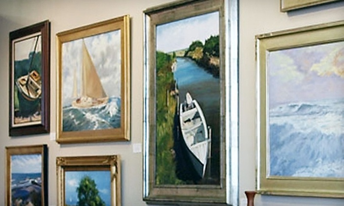 The Gallery at East Beach - Norfolk: $50 for $100 Worth of Custom Framing or $200 Worth of Art at The Gallery at East Beach in Norfolk