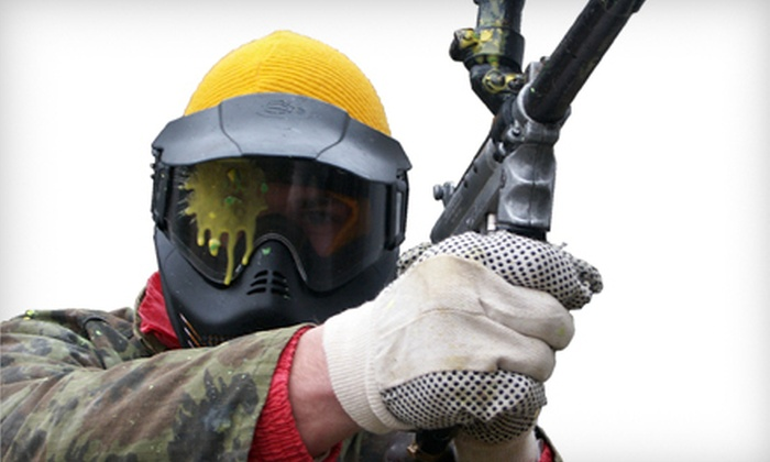 Killer Paintball - Romulus: Three-Hour Paintball Outing for Four or Six with Equipment Rental at Killer Paintball in Romulus (Up to 60% Off)