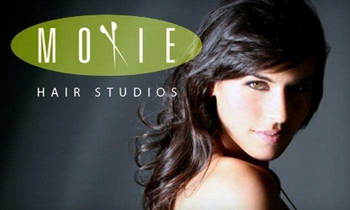 Moxie Hair Studios - Las Vegas: $30 for a Haircut, Shampoo, Blowout, and Kérastase Treatment at Moxie Hair Studios (Up to $100 Value)