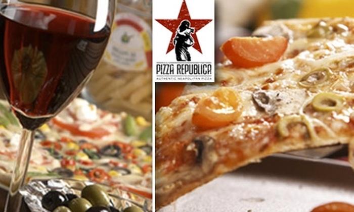 Pizza Republica - Denver: $9 for $25 Worth of Authentic Neapolitan Pizza, Cuisine, and Drinks at Pizza Republica