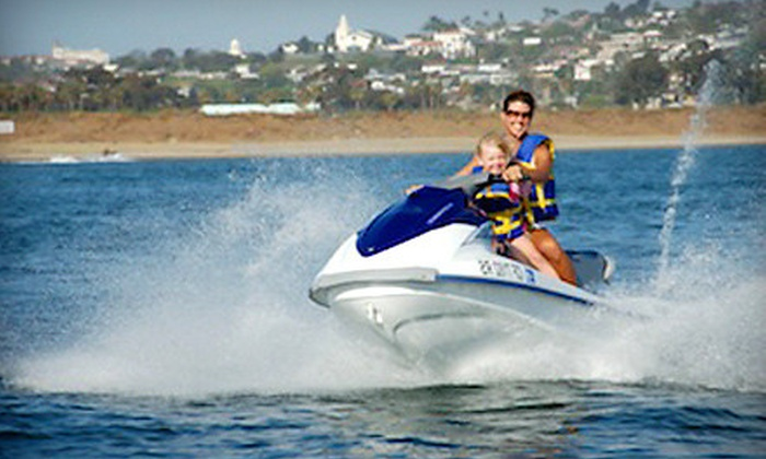Adventure Water Sports - Mission Bay Park: $49 for a One-Hour Waverunner Rental from Adventure Water Sports ($100 Value)