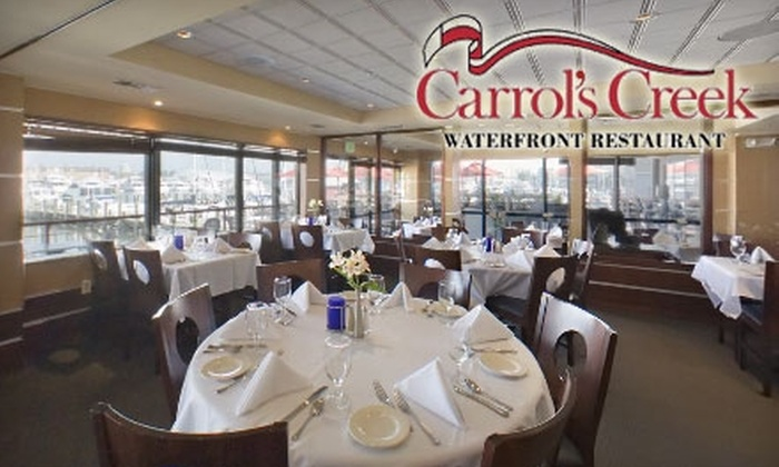 Carrol's Creek - Annapolis: $22 for $45 Worth of Upscale Fare and Drinks at Carrol's Creek in Annapolis