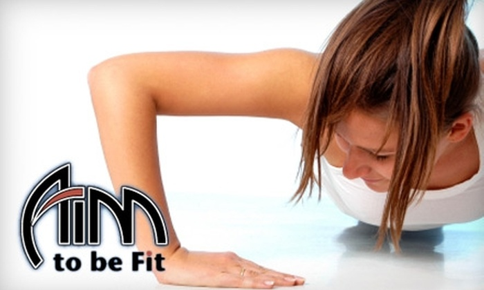 Aim to be Fit Women's Boot Camps - Multiple Locations: $40 for Six Weeks of Unlimited Boot-Camp Classes at Aim to be Fit Women's Boot Camps