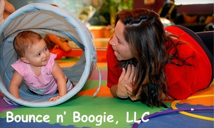 Bounce n' Boogie - North Academy Business Park: $20 for a Month of Unlimited Classes for a Child ($45 Value) or $30 for Two Children or More (Up to $70 Value) at Bounce n' Boogie
