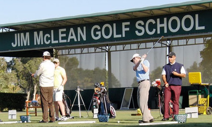Jim McLean Golf Schools - Links At Waterchase: $99 for Private Lesson, Golf Round, Driving-Range Balls, and Hybrid Club at Jim McLean Golf Schools (Up to $244 Value)