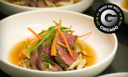 $80 Groupon for Dinner at Takashi   - Takashi in Chicago