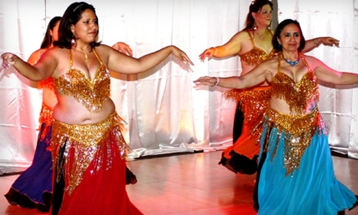 Abba! Bellydance Studio - Central City: $50 for Three Months of Belly Dance Classes at Abba! Bellydance Studio ($105 Value)