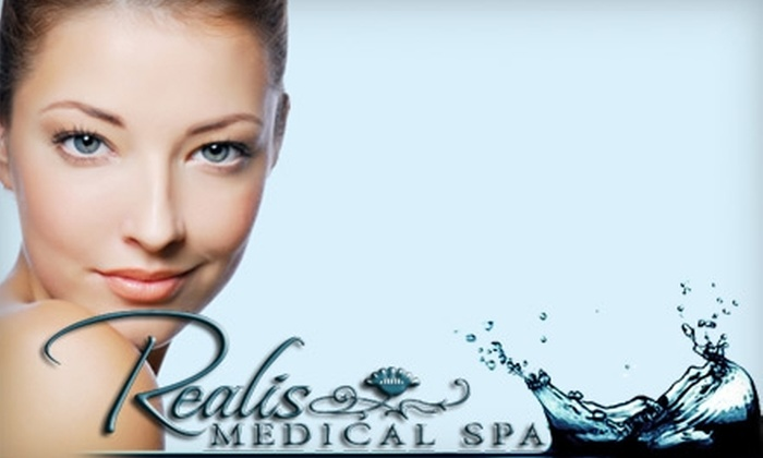 Realis Medical Spa - Houston: $99 for a Photogenesis Rejuvenation Facial or Laser Genesis Face Treatment at Realis Medical Spa (an up to $350 Value)