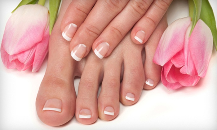 Finishing Touch Spa & Salon - Glenwood Grove - North Iris: $39 for Seascape Citrus Spa Manicure and Marine Spa Pedicure at Finishing Touch Spa & Salon in Boulder ($90 Value)