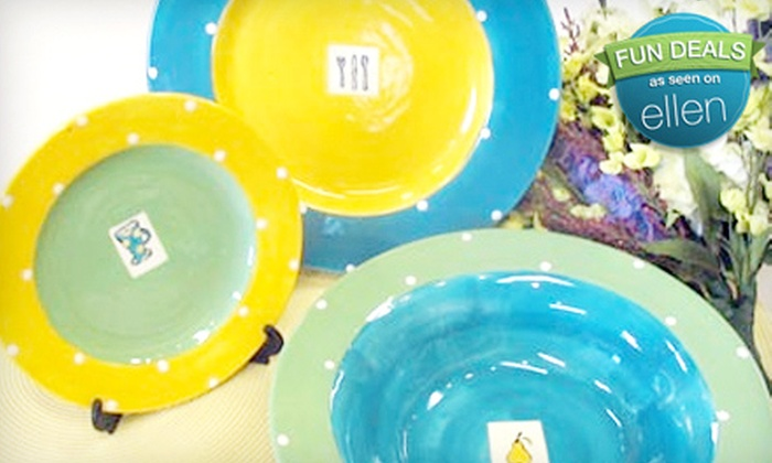At The Clayground - Upper Mesa Hills: $10 for $20 Worth of Paint-Your-Own Pottery at At The Clayground