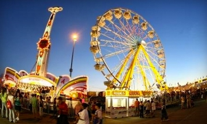 Capital EX at Northlands - Edmonton: $12 for Two Admissions to Capital EX on Sunday, July 31 (Up to $24 Value)