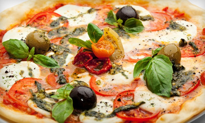 Café Annie's  - West Omaha: Pizza Meal with Salad and Drinks for Two or Four or $8 for $16 Worth of Californian Dinner Fare at Café Annie's
