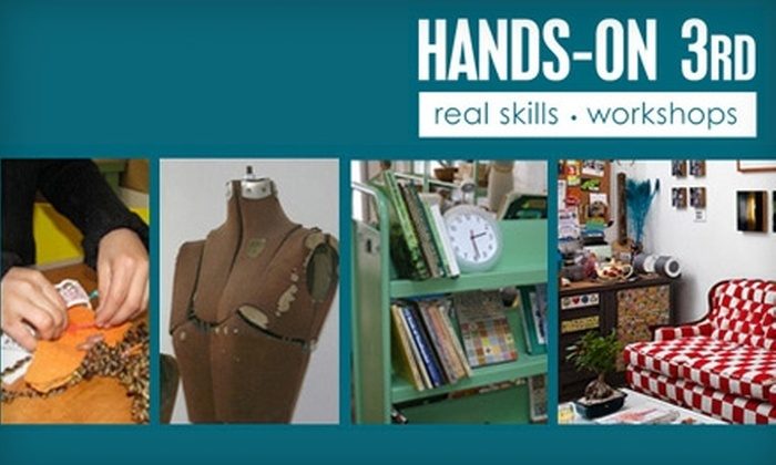 Hands-on 3rd - Mid-City West: $35 for $75 Worth of Do-It-Yourself Craft Workshops at Hands-on 3rd