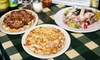 Old owner Gourmet Pizza Shoppe - Multiple Locations: 14-Inch Pizza with Salad or Appetizer at The Gourmet Pizza Shoppe. Two Locations Available.