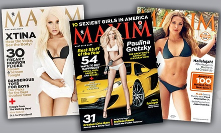 One-Year Subscription to Maxim Magazine