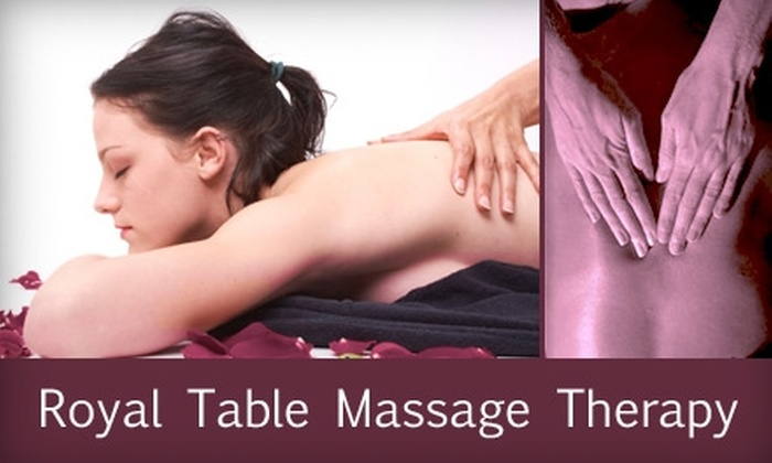 Royal Table Massage  - Sioux Falls: $35 for an Hour-Long Massage at Royal Table Massage (Up to $75 Value)
