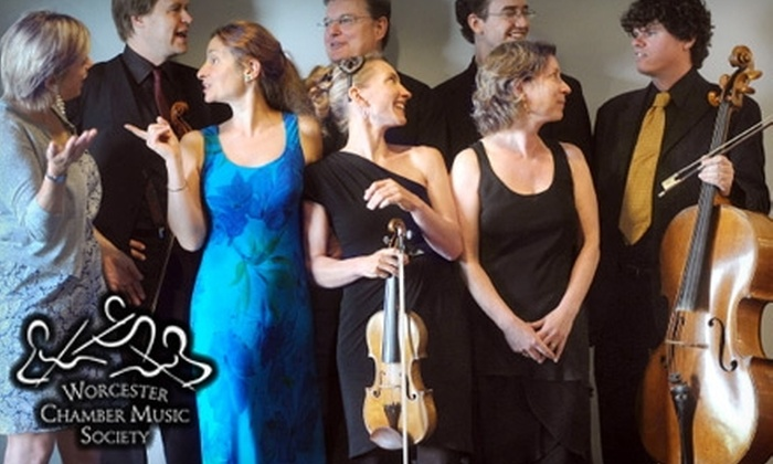 Worcester Chamber Music Society - Harvard: $25 for Two Adult Tickets to the Worcester Chamber Music Society Baroque Concert on Saturday, February 12 (Up to $50 Value)