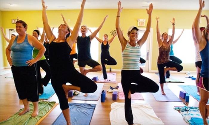NH Power Yoga - Merrimack: $30 for a Five-Class Punch Card at NH Power Yoga in Merrimack