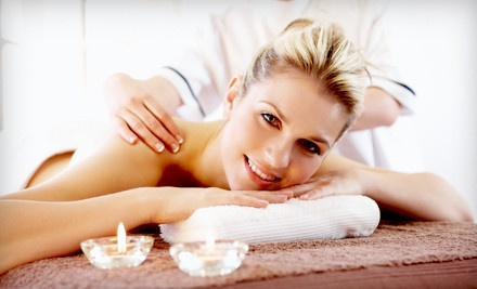 25-Minute Deep Tissue Massage with Aromatherapy and Hand or Foot Sugar Scrubs (a $65 total value) - Back In Balance in Hilton Head