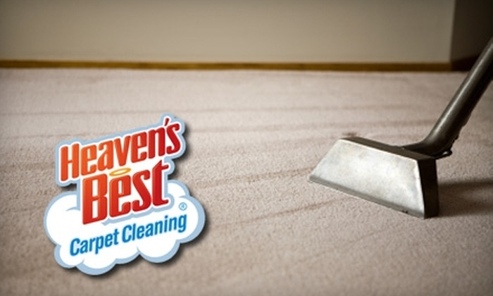 Heaven's Best Carpet Cleaning - Briarwood: $69 for Two Rooms of Carpet Cleaning from Heaven's Best Carpet Cleaning in Queens ($139 Value)
