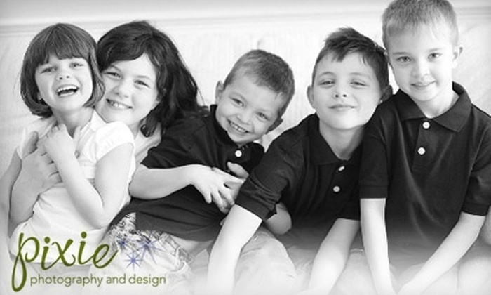 Pixie Photography and Design - Hartford: $75 for a 1-2 Hour In-Home Photography Session from Pixie Photography and Design
