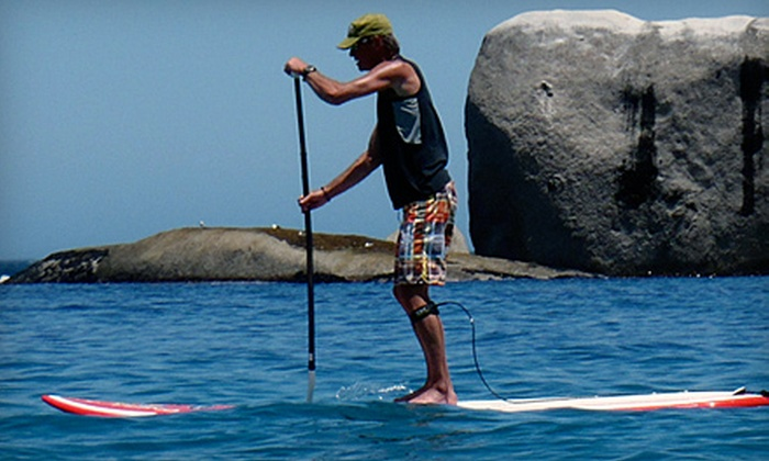SurfSUPnj, LLC - Multiple Locations: $32 for Stand-Up Paddleboarding Lesson at SurfSUPnj, LLC ($65 Value)