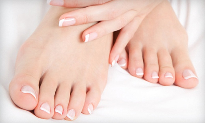 Le Belle Donne Salon and Day Spa - St. Charles: $27 for a Basic Manicure and Pedicure at Le Belle Donne Salon and Day Spa in St. Charles ($60 Value)