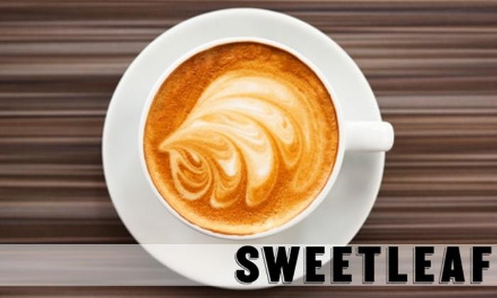 SweetLeaf - Hunters Point: $3 for $6 Worth of Drinks, Snacks, and Treats at SweetLeaf
