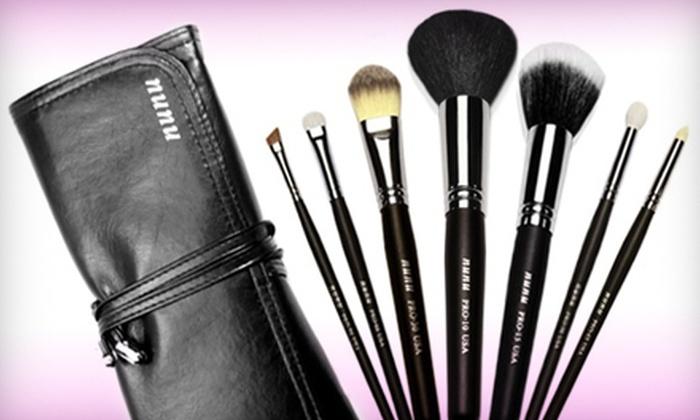 nunu Makeup: Face-and-Eye, Travel, or Premium Makeup-Brush Sets from nunu Makeup (Up to 65% Off)