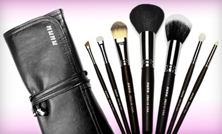 Face-and-Eye Brush Set (a $49 value) - nunu Makeup in