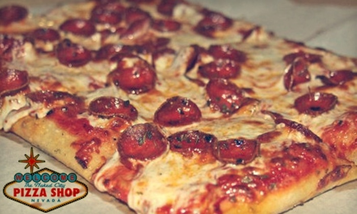 Naked City Pizza Shop - Las Vegas: $10 for $20 Worth of Fare at Naked City Pizza Shop