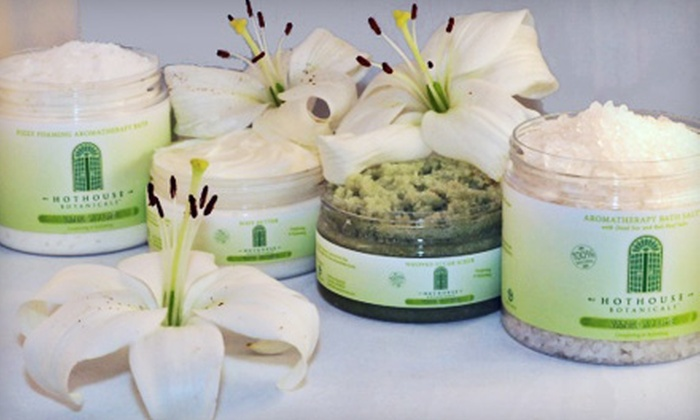 Hothouse Botanicals: $15 for $30 Worth of Organic Bath and Body Products from Hothouse Botanicals
