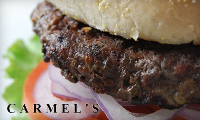 Carmel's - Downtown Ashville: $7 for $15 Worth of  Lunch or Sunday Brunch Fare or $15 for $30 Worth of Dinner Fare at Carmel's