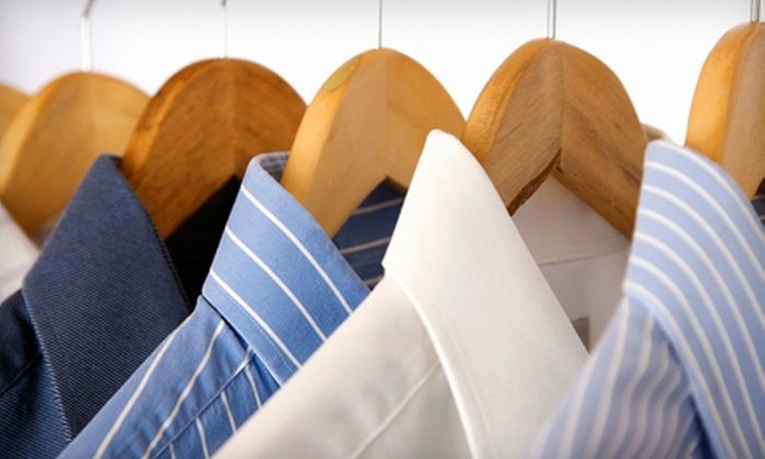 West Huntsville Cleaners - Multiple Locations: Dry-Cleaning Services at West Huntsville Cleaners (Half Off). Two Options Available.
