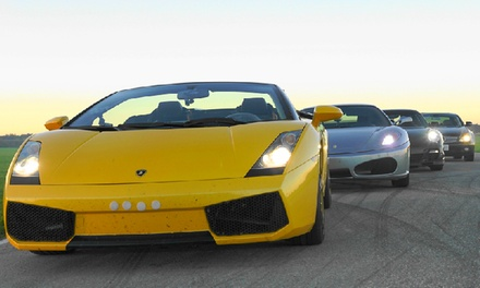 One, Two, or Three Laps in a Lamborghini, Ferrari, or Porsche at Toronto Motorsports Park (Up to 60% Off)