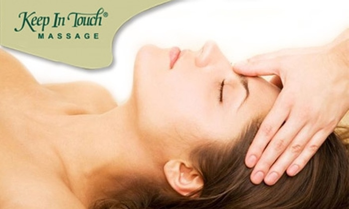 Keep in Touch Massage - Uptown: $39 for a One-Hour Therapeutic Massage and One Warm Hugs Corn Pillow at Keep in Touch Massage Uptown ($78 Value)