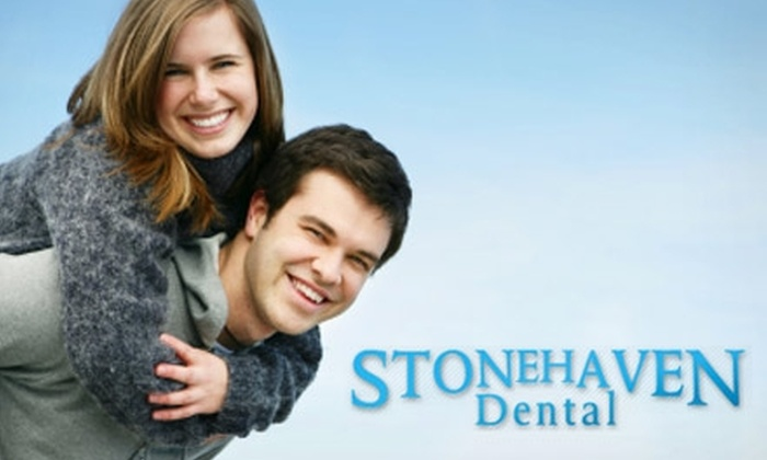 Stonehaven Dental - Lehi: $49 for an Exam, X-rays, and a Custom Take-Home Teeth-Whitening Treatment from Stonehaven Dental ($385 Value)