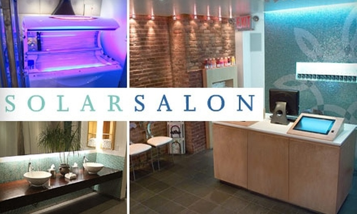 Solar Salon - Multiple Locations: $20 for Two Bed or Spray-Tanning Sessions at Solar Salon
