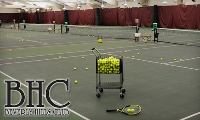 Beverly Hills Club - Detroit: $85 for Seven Weeks of Beginner Group Tennis Lessons at the Beverly Hills Club ($179 Value)