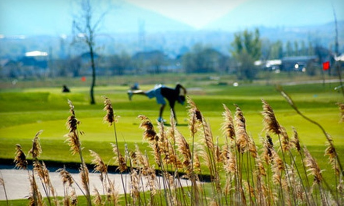Crane Field Golf Course - Clinton: $20 for a Nine-Hole Golf Outing with Cart and Range Balls for Two at Crane Field Golf Course ($42 Value)
