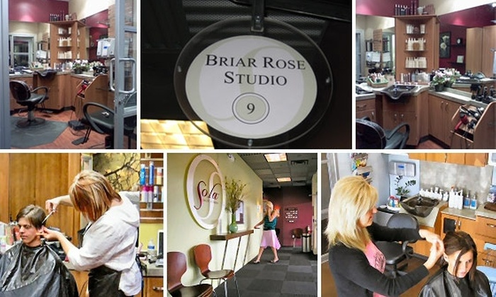 Briar Rose Salon at Sola Salons - Centennial: $40 for $80 Worth of Hair Services at Briar Rose Salon