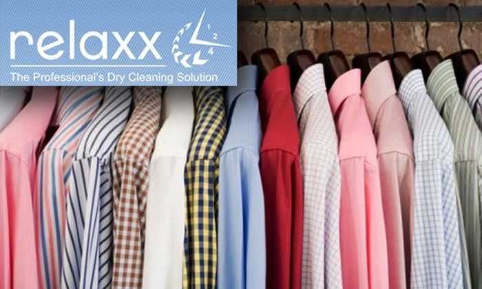 relaxx Dry Cleaning - Old Town: $39 for $100 Worth of Dry Cleaning Pick-Up and Delivery from relaxx Dry Cleaning