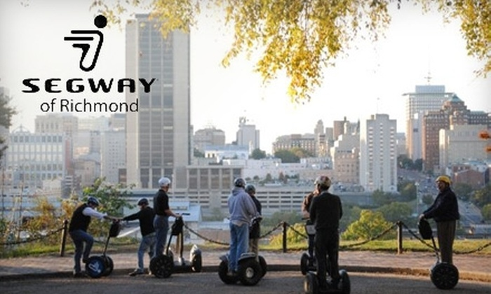 Segway of Richmond - Shockoe Slip: $22 for a 60-Minute Church Hill Micro Tour at Segway of Richmond ($45 value)