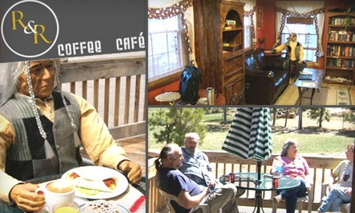 R&R Coffee Café - Black Forest-Peyton: $4 for $8 Worth of Coffee, Sandwiches, Salads, and More at R&R Coffee Café
