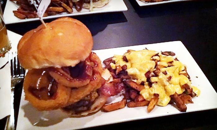 Rare Burger Bar - Greystone: $15 for $30 Worth of Customized Burgers at Rare Burger Bar in North Providence
