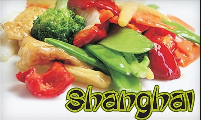Shanghai - College Hill: $15 for $30 Worth of Asian Cuisine and Drinks at Shanghai