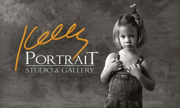 Kelly Portrait Studio & Gallery - Sanford: $249 for a Studio Portrait Package at Kelly Portrait Studio & Gallery in Lake Mary ($795 Value)