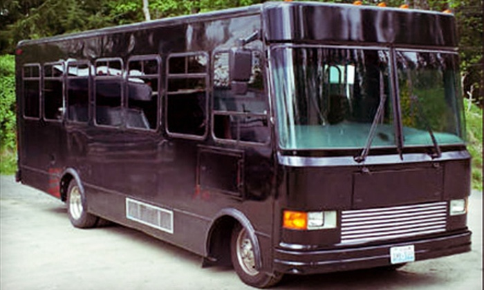 Seattle Party Limo - Renton: One- or Two-Hour Rental of a 16- or 28-Passenger Party Bus at Seattle Party Limo (Up to 51% Off)
