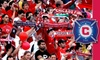 Chicago Fire - Bedford Park: $37 for One Miller Lite Party Deck Ticket to a Chicago Fire Game and an Adidas Chicago Fire Scarf ($75 Value). Buy Here for Fire vs. FC Dallas on 5/27/10 at 7:00 p.m. Additional Games Below.